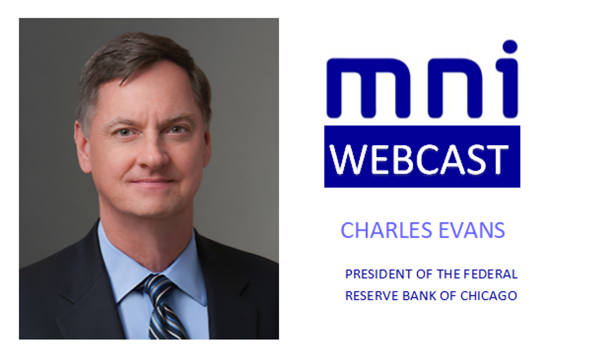 MNI Webcast with Chicago Fed's Evans On Sept 23: Replay